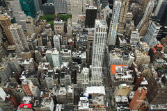 New York horisontöverkant ner Royaltyfria Bilder