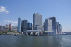 New York horisont, Royaltyfria Foton
