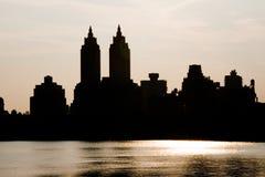 New York horisont Royaltyfri Foto