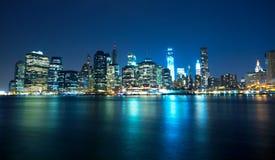 New York horisont Royaltyfria Foton