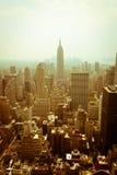 New York horisont Arkivbild