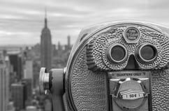 New York horisont Arkivfoton