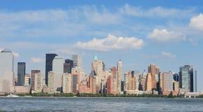 New York horisont royaltyfria bilder