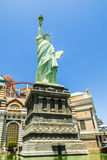 New York Hotel & Casino in Las Vegas, with Replica of the Stat Royalty Free Stock Image