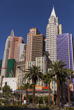 New York hotel, morning, in Las Vegas, NV on April 19, 2013 Royalty Free Stock Image