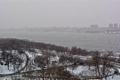 New York. Hudson River. Royalty Free Stock Photography