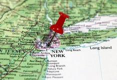 New York i USA Fotografering för Bildbyråer