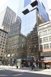 New York, il 2 luglio: Costruzione di banca di America in Manhattan da New York negli Stati Uniti Fotografie Stock Libere da Diritti