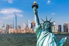 New York, im Stadtzentrum gelegenes Manhattan Stockbilder
