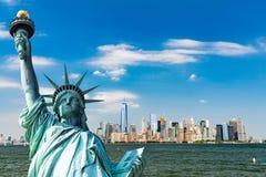 New York, im Stadtzentrum gelegenes Manhattan Lizenzfreie Stockfotografie