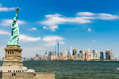 New York, im Stadtzentrum gelegenes Manhattan Stockbild
