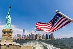 New York, im Stadtzentrum gelegenes Manhattan Stockfoto
