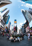New York. Image of New York city streets, Broadway Stock Images