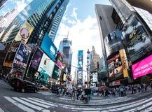New York. Image of New York city streets, Broadway Stock Photo