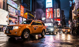 New York. Image of New York city streets, Broadway, Times square Royalty Free Stock Photo