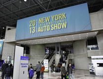 New York 2013 International Auto Show. The New York International Auto Show is an annual auto show held in New York City in late March or early April. It is Stock Image