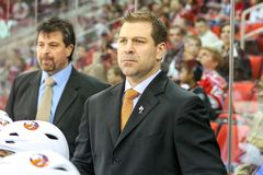 New York Islanders Assistant Coach Doug Weight Stock Photography
