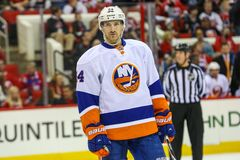 New York Islanders center Brad Boyes Stock Photo