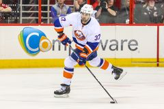 New York Islanders defenseman Brian Strait Royalty Free Stock Photos