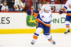 New York Islanders defenseman Lubomir Visnovsky Stock Photos