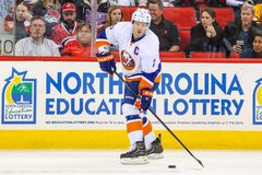 New York Islanders defenseman Mark Streit Stock Photos