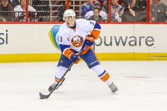 New York Islanders defenseman Travis Hamonic Stock Images