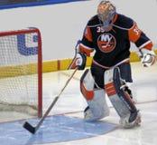 New York Islanders Goalie Royalty Free Stock Images