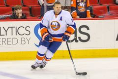 New York Islanders right wing Kyle Okposo Royalty Free Stock Photography