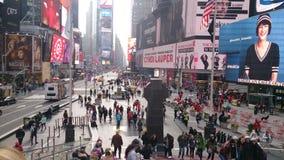 New York, 22,2017 Januari Times Square in New York Royalty-vrije Stock Foto's