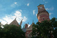 New York: The Jefferson Market Branch on September 15, 2014 Stock Photography