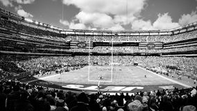 New York Jets @ MetLife Stadium. NFL team the New York Jets playing against the Washington Redskins at MetLife Stadium in East Rutherford, NJ. Unfortunately the royalty free stock photography