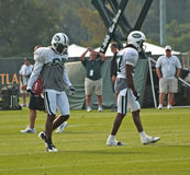 New york jets training camp. In cortland,new york. photo taken august 3rd,2010 Stock Photography