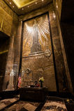 NEW YORK -  JULY 19: The Empire State Building entrance hall Royalty Free Stock Image