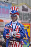 NEW YORK - JUNE 18: Unidentified participant attends Mermaid parade on Coney Island in Brooklyn Stock Photography