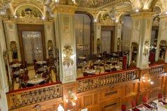 New York kafé - Budapest, Ungern arkivbild