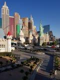New York New York kasino Las Vegas Royaltyfria Foton