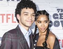New York Kickoff Party The Get Down season One Part Two Royalty Free Stock Images