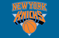 New York Knicks Royaltyfri Bild