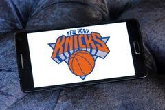 New York Knicks american basketball team logo Royalty Free Stock Photos