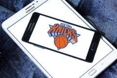 New York Knicks american basketball team logo Stock Images