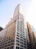 NEW YORK, l'edificio di Chrysler Fotografia Stock Libera da Diritti