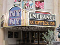 New York, Las Vegas Image stock