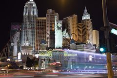 New York, Las Vegas Royalty Free Stock Photography