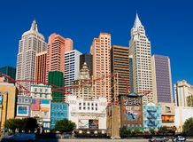 New York in Las Vegas Stock Afbeelding