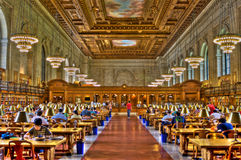 New York Library Royalty Free Stock Image