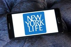 New York Life Insurance Company logo. Logo of New York Life Insurance Company on samsung mobile. New York Life Insurance Company ,NYLIC, is the largest mutual Royalty Free Stock Photo