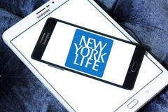 New York Life Insurance Company logo. Logo of New York Life Insurance Company on samsung mobile. New York Life Insurance Company ,NYLIC, is the largest mutual Stock Photos