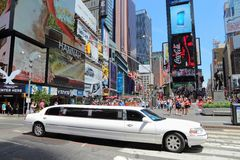 New York limo Stock Images