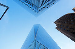 New York: looking up at One World Trade Center on September 14, 2014 Stock Image