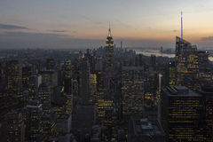 New York. Lovely view of the world`s major cities Royalty Free Stock Photo
